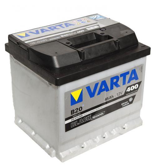 Автомобильный аккумулятор АКБ VARTA (ВАРТА) Black Dynamic 545 413 040 B20 45Ач ПП