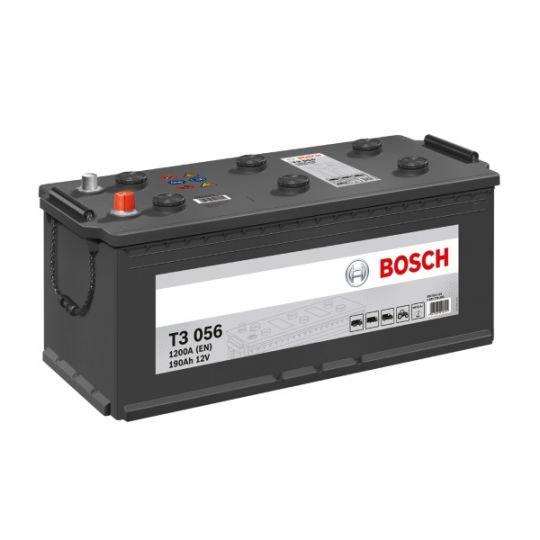 Автомобильный аккумулятор АКБ BOSCH (БОШ) T3 056 / 690 033 120 190Ач Рос п.п.