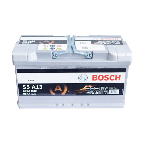 Автомобильный аккумулятор АКБ BOSCH (БОШ) S5 A13 / 595 901 085 S5 AGM 95Ач о.п.