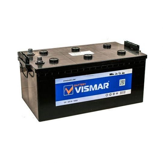 Автомобильный аккумулятор АКБ Vismar (ВИСМАР) 6СТ-225 225Ач О.П. (3) (евро)