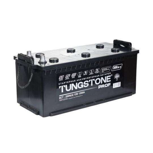 Автомобильный аккумулятор Tungstone Prof (Тангстоун Проф) 6СТ-200 N 200Ач П.П. (4) (росс.) БОЛТ