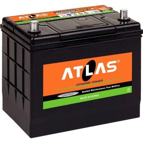 Автомобильный аккумулятор АКБ ATLAS (Атлас) MF56068 60Ач о.п.