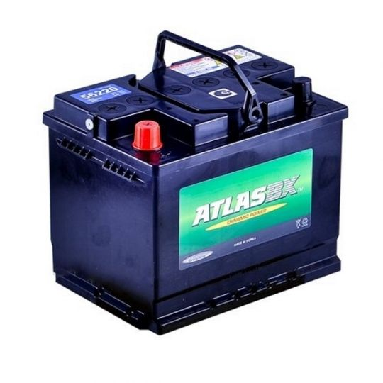 Автомобильный аккумулятор АКБ ATLAS (Атлас) 56220 62Ач п.п.