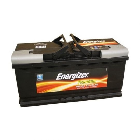 Автомобильный аккумулятор АКБ Energizer (Энерджайзер) EM110L6 610 402 092 110Ач о.п.