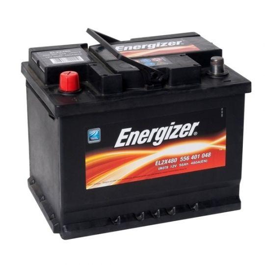 Автомобильный аккумулятор АКБ Energizer (Энерджайзер) EL2X480 556 401 048 56Ач п.п.