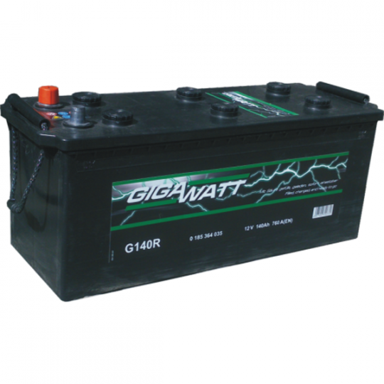 Автомобильный аккумулятор АКБ GigaWatt (Гигават) G140R 640 035 076 140Ач О.П. (3) (евро)