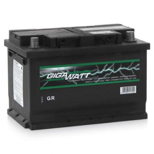 Автомобильный аккумулятор АКБ GigaWatt (Гигават) G70R 570 144 064 70Ач о.п.