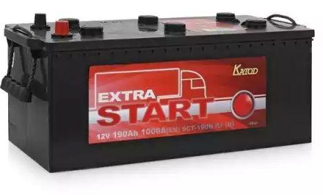 Автомобильный аккумулятор АКБ Extra START (Экстра Старт) 6CT-190 190Ач п.п.