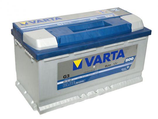 Автомобильный аккумулятор АКБ VARTA (ВАРТА) Blue Dynamic 595 402 080 G3 95Ач ОП