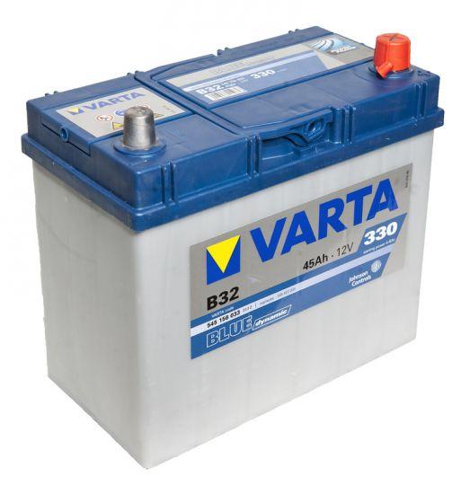 Автомобильный аккумулятор АКБ VARTA (ВАРТА) Blue Dynamic 545 156 033 B32 45Ач ОП