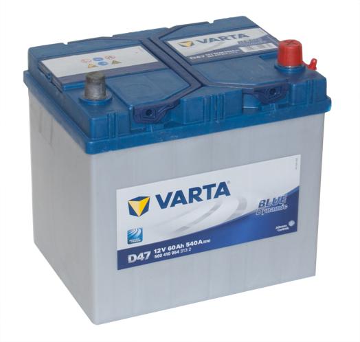 Автомобильный аккумулятор АКБ VARTA (ВАРТА) Blue Dynamic 560 410 054 D47 60Ач ОП
