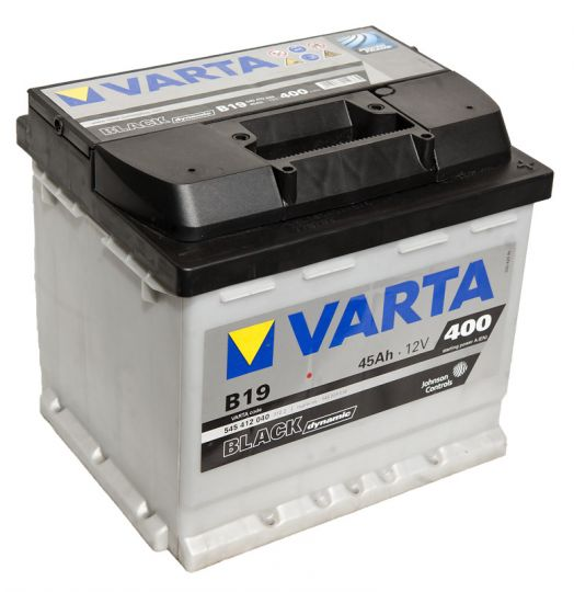 Автомобильный аккумулятор АКБ VARTA (ВАРТА) Black Dynamic 545 412 040 B19 45Ач ОП