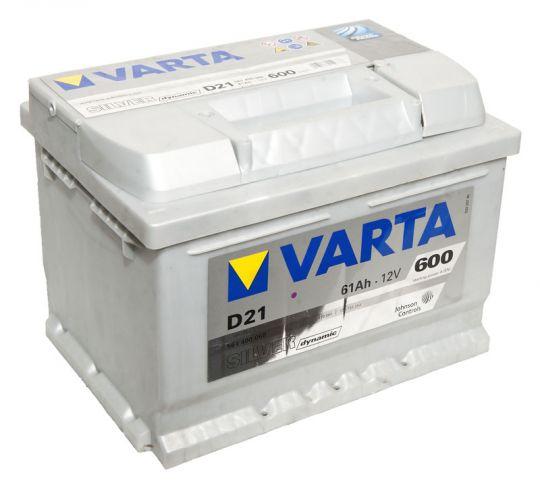 Автомобильный аккумулятор АКБ VARTA (ВАРТА) Silver Dynamic 561 400 060 D21 61Ач ОП