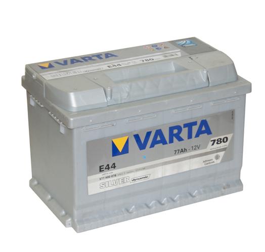 Автомобильный аккумулятор АКБ VARTA (ВАРТА) Silver Dynamic 577 400 078 E44 77Ач ОП