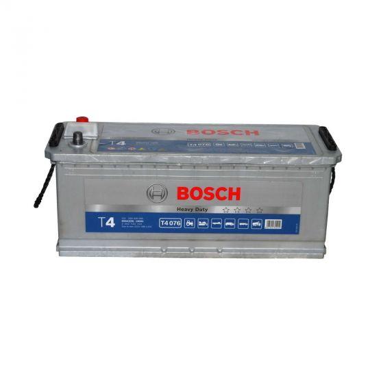Автомобильный аккумулятор АКБ BOSCH (БОШ) T4 076 / 640 400 080 140Ач о.п.(нижн.крепление) B13