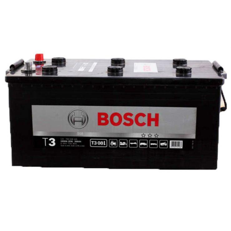 Автомобильный аккумулятор АКБ BOSCH (БОШ) T3 081 / 720 018 115 220Ач о.п.
