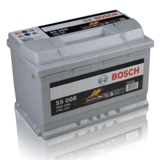 Автомобильный аккумулятор АКБ BOSCH (БОШ) S5 A08 / 570 901 076 S5 AGM 70Ач о.п.