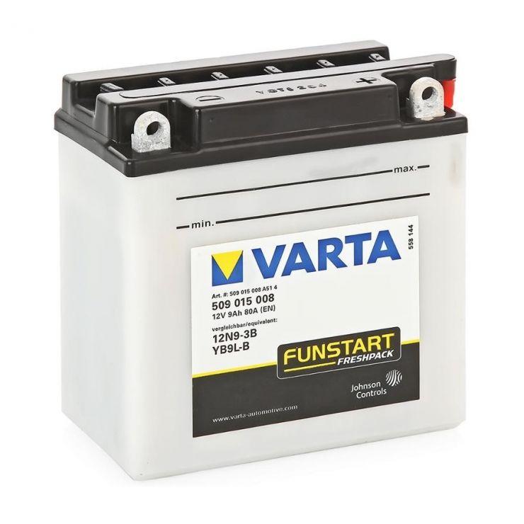 Аккумулятор для мототехники Varta 9Ач Moto 509 016 008 (YB9L-A2) - фото 2