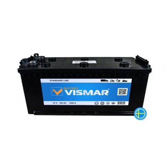 Автомобильный аккумулятор АКБ Vismar (ВИСМАР) 6СТ-190 190Ач П.П. (4) (росс.) БОЛТ