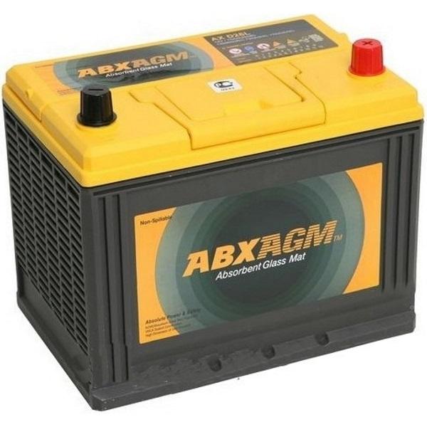 Автомобильный аккумулятор АКБ ATLAS (Атлас) AGM AX S55D23L 55Ач о.п. нижнее крепление