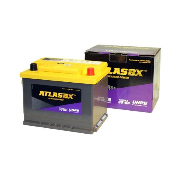 Автомобильный аккумулятор АКБ ATLAS (Атлас) UHPB UMF56800 68Ач о.п.