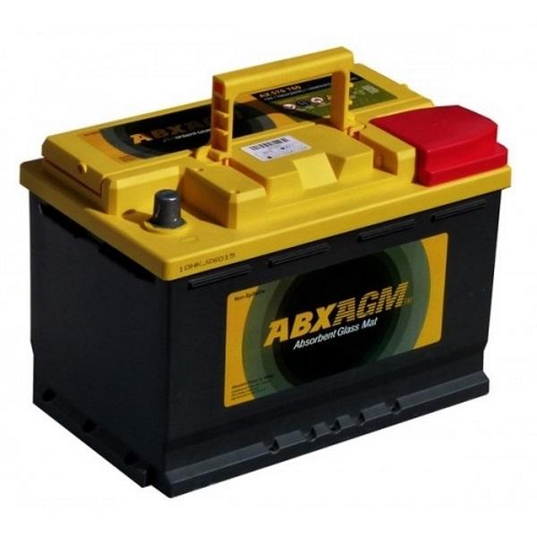 Автомобильный аккумулятор АКБ ATLAS (Атлас) ABX AGM 570 760 70Ач о.п.