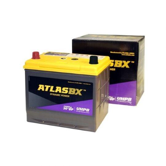 Автомобильный аккумулятор АКБ ATLAS (Атлас) UHPB UMF115D26R 85Ач п.п.