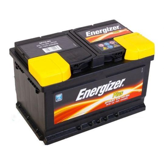 Автомобильный аккумулятор АКБ Energizer (Энерджайзер) PLUS EP70LB3 570 144 064 70Ач о.п.