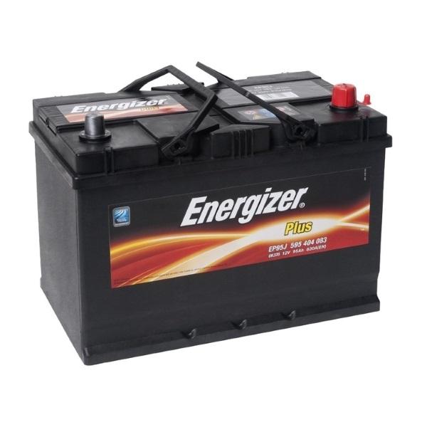 Автомобильный аккумулятор АКБ Energizer (Энерджайзер) PLUS EP95J 595 404 083 95Ач о.п.