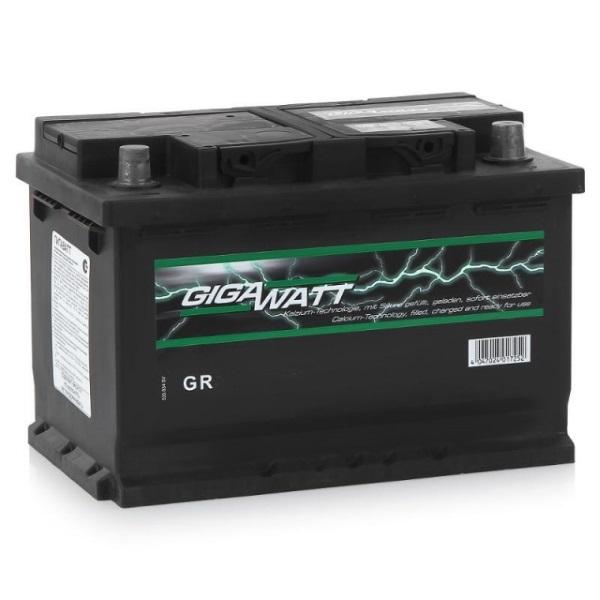 Автомобильный аккумулятор АКБ GigaWatt (Гигават) G62R 560 408 054 60Ач о.п.