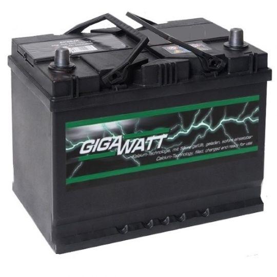 Автомобильный аккумулятор АКБ GigaWatt (Гигават) G68JL 568 405 055 68Ач п.п.
