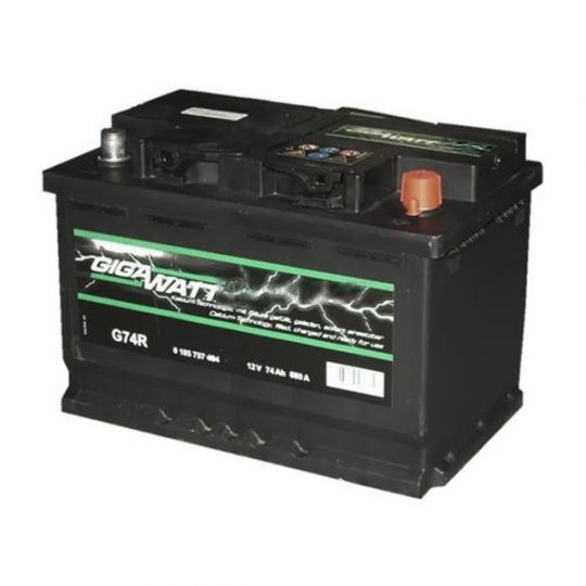 Автомобильный аккумулятор АКБ GigaWatt (Гигават) G90R 590 122 072 90Ач о.п.