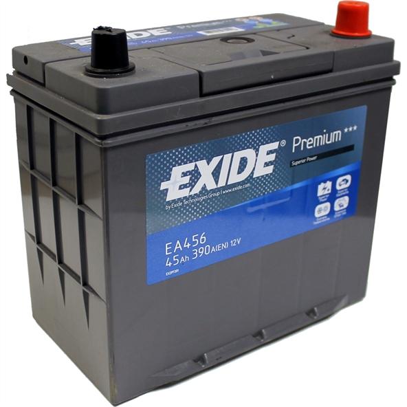 Автомобильный аккумулятор АКБ Exide (Эксайд) Premium EA456 45Ач о.п.