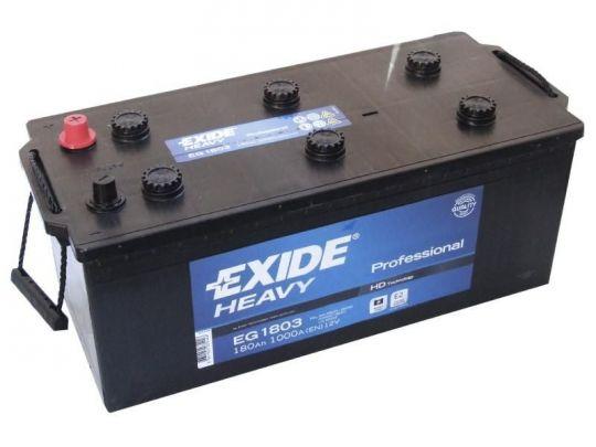 Автомобильный аккумулятор АКБ Exide (Эксайд) EG1803 180Ач о.п. (3) (евро)