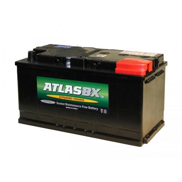 Автомобильный аккумулятор АКБ ATLAS (Атлас) 57412 74Ач о.п.