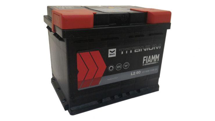 Автомобильный аккумулятор АКБ FIAMM (ФИАММ) BLACK Titanium L260 60Ач О.П.